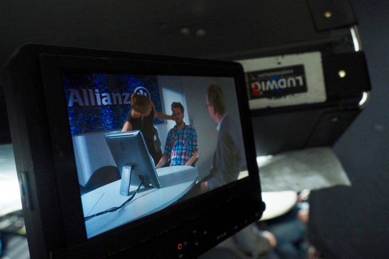 Dreharbeiten Allianz ABV Herbstwerbung 2016