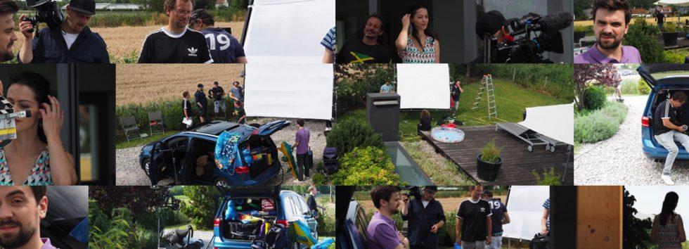 Dreharbeiten und Fotoshooting für Allianz Herbstwerbung 2017